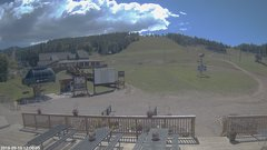 view from Angel Fire Resort - Base on 2018-09-10