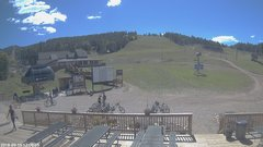 view from Angel Fire Resort - Base on 2018-09-15
