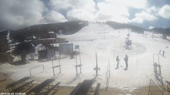 view from Angel Fire Resort - Base on 2019-02-03