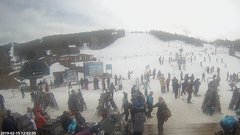 view from Angel Fire Resort - Base on 2019-02-15