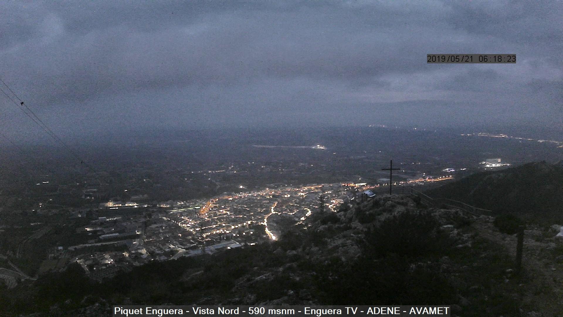 time-lapse frame, TempestEnguera21 webcam