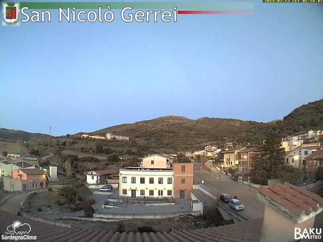 time-lapse frame, San Nicolò webcam