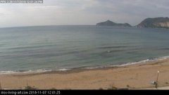 view from Agios Georgios NW Corfu Greece on 2018-11-07