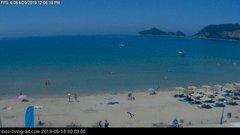 view from Agios Georgios NW Corfu Greece on 2019-06-20