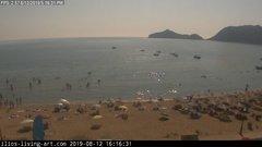 view from Agios Georgios NW Corfu Greece on 2019-08-12
