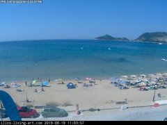 view from Agios Georgios NW Corfu Greece on 2019-08-19