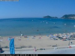 view from Agios Georgios NW Corfu Greece on 2019-08-21