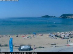 view from Agios Georgios NW Corfu Greece on 2019-08-28