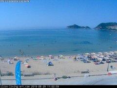 view from Agios Georgios NW Corfu Greece on 2019-08-29