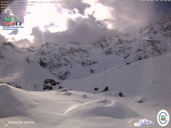 view from Rifugio Zamboni on 2019-03-08