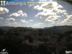 view from Armungia on 2019-07-15