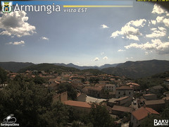 view from Armungia on 2019-07-19