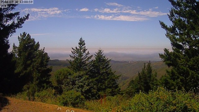 view from Kings Mountain on 2018-07-30