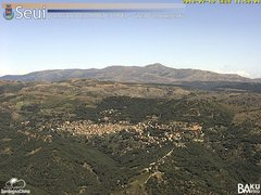 view from Monte Lusei Seui on 2018-07-19