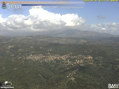 view from Monte Lusei Seui on 2019-05-12