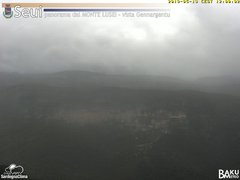 view from Monte Lusei Seui on 2019-05-13