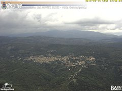 view from Monte Lusei Seui on 2019-05-15