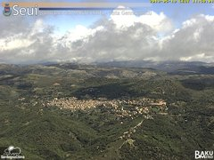view from Monte Lusei Seui on 2019-05-19
