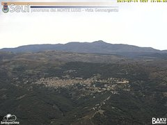 view from Monte Lusei Seui on 2019-07-14