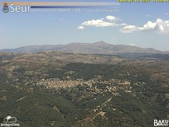view from Monte Lusei Seui on 2019-07-19