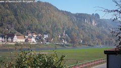 view from Webcam in Bad Schandau Sächsische Schweiz on 2018-10-13