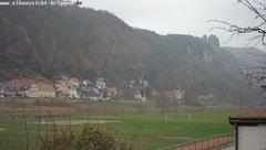 view from Webcam in Bad Schandau Sächsische Schweiz on 2018-11-26