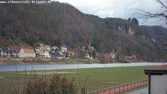 view from Webcam in Bad Schandau Sächsische Schweiz on 2019-03-05