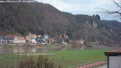view from Webcam in Bad Schandau Sächsische Schweiz on 2019-03-12