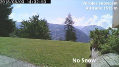 view from Verbier Snowcam2 on 2018-08-03