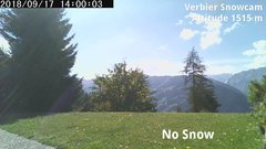 view from Verbier Snowcam2 on 2018-09-17