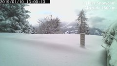view from Verbier Snowcam2 on 2019-01-10