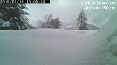 view from Verbier Snowcam2 on 2019-01-14