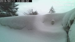 view from Verbier Snowcam2 on 2019-02-11