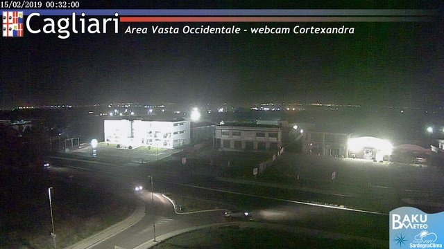 time-lapse frame, Sestu Cortexandra webcam