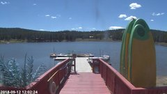 view from Angel Fire Resort - Monte Verde Lake on 2018-09-12