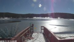 view from Angel Fire Resort - Monte Verde Lake on 2018-11-19
