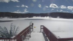 view from Angel Fire Resort - Monte Verde Lake on 2018-12-03