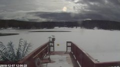 view from Angel Fire Resort - Monte Verde Lake on 2018-12-07