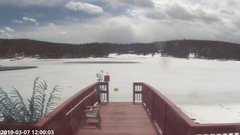 view from Angel Fire Resort - Monte Verde Lake on 2019-03-07