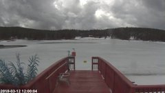 view from Angel Fire Resort - Monte Verde Lake on 2019-03-12