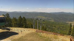 view from Angel Fire West View on 2018-09-17