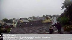 view from Wembury, Devon. Knighton Hill Cam on 2018-09-22
