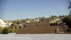 view from Wembury, Devon. Knighton Hill Cam on 2019-02-25