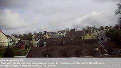 view from Wembury, Devon. Knighton Hill Cam on 2019-03-18
