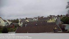 view from Wembury, Devon. Knighton Hill Cam on 2019-03-21