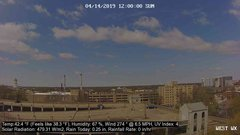 view from University Place Apartments - West Weather on 2019-04-14