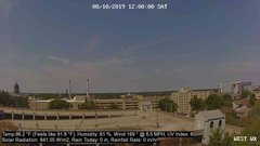 view from University Place Apartments - West Weather on 2019-08-10