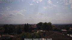 view from Montserrat - Casadalt (Valencia - Spain) on 2018-08-08