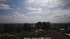 view from Montserrat - Casadalt (Valencia - Spain) on 2018-08-10