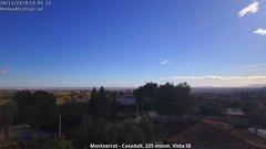 view from Montserrat - Casadalt (Valencia - Spain) on 2018-11-26